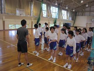 6月18日(火) 教育実習生授業