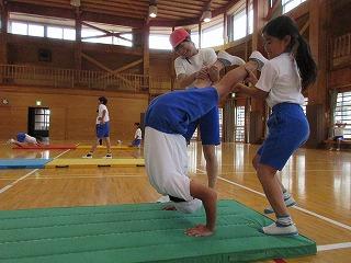 6月14日(金) 6年生 体育授業